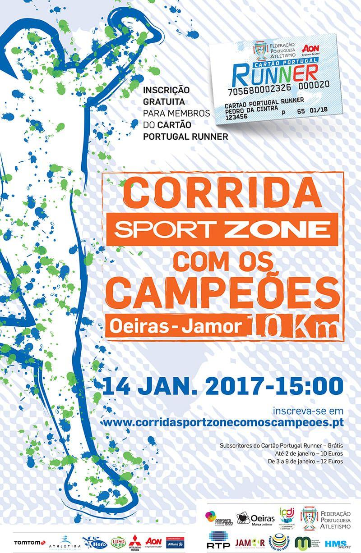 174a9c9493 Corrida Sport Zone com os Campeões